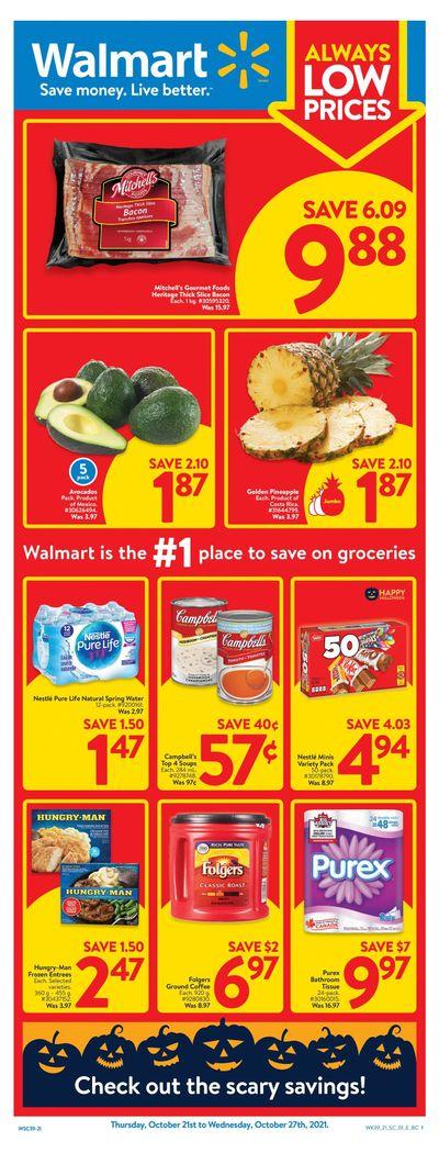 Walmart (West) Flyer October 21 to 27