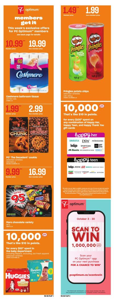 Dominion Flyer October 21 to 27