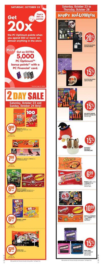 Shoppers Drug Mart (West) Flyer October 23 to 28