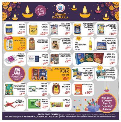 Fresh Food Centre Flyer October 20 to November 7