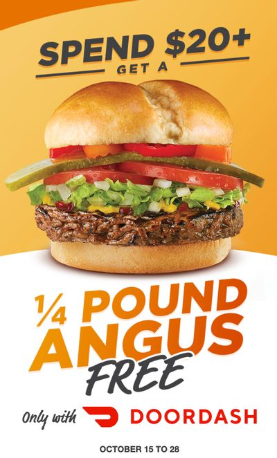 Harvey's Canada Promotions: FREE Angus Beef Burger