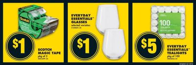 No Frills Canada: 25 Cent Scotch Tape After Coupon This Week!