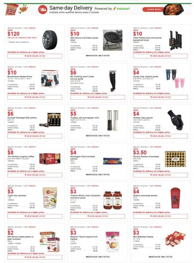 Costco Canada More Savings Weekly Coupons/Flyers for: Quebec, until November 7