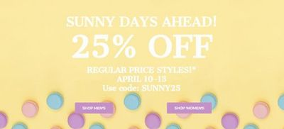 Rockport Canada Easter Weekend Sale: Save 25% OFF Regular-Priced Styles + Up to 70% OFF Sale