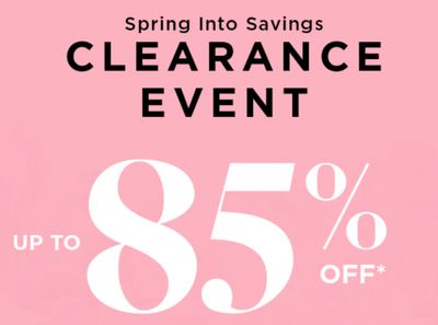 Le Chateau Canada Deals: Up to 85% OFF Clearance Items + Shoes and Boots from $20 & More Deals!