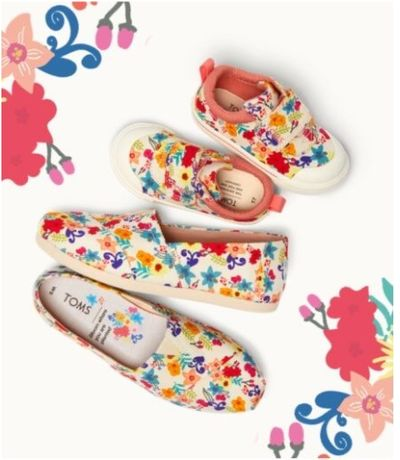 TOMS Canada Online Sale: Today, Save 30% Off Spring Favorites Styles with Coupon Code!
