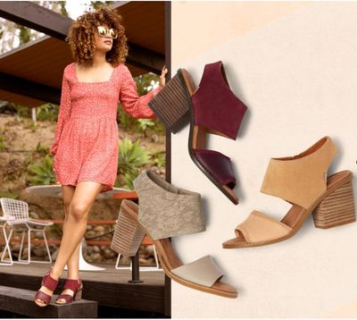 TOMS Canada Online Offers: Save35% offSummer Faves+ up to 50% off Sandals & Wedges