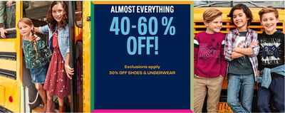 The Children's Place Canada Offers: Save 40% – 60% off Almost Everything + More Offers