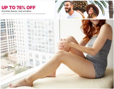 Groupon Canada Sale: Save up to 75% off on Activities, Beauty, Tech & More