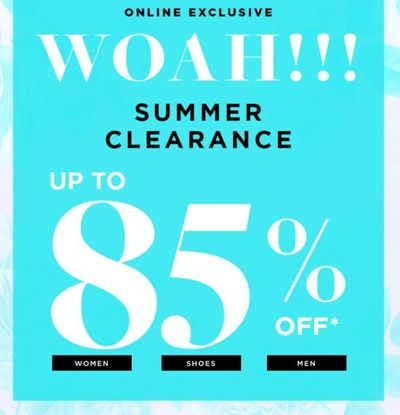 Le Chateau Canada Deals: Save Up to 50% OFF Summer Sale + Up to 85% OFF Clearance + More